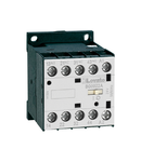 Releu contactor: AC AND DC, BG00 TYPE, AC bobina 50/60HZ, 400VAC, 3NO AND 1NC