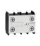 Contact auxiliar. SCREW TERMINALS, FOR BG SERIES MINI-CONTACTORS, 2NC