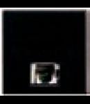 Priza telefon Rj11 negru Bticino Axolute