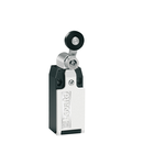 Limitator de cursa, K SERIES, ROLLER LEVER PLUNGER, 1 BOTTOM CABLE ENTRY. DIMENSIONS TO EN 50047, METAL BODY, CONTACTS 2NC SNAP ACTION. METAL ROLLER