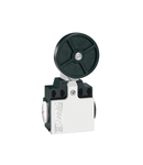 Limitator de cursa, K SERIES, ROLLER LEVER PLUNGER, 2 SIDE CABLE ENTRY. DIMENSIONS COMPATIBLE TO EN 50047, PLASTIC BODY, CONTACTS 1NO+1NC SNAP ACTION. RUBBER ROLLER