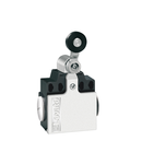 Limitator de cursa, K SERIES, ROLLER LEVER PLUNGER, 2 SIDE CABLE ENTRY. DIMENSIONS COMPATIBLE TO EN 50047, METAL BODY, CONTACTS 1NO+1NC SNAP ACTION. METAL ROLLER