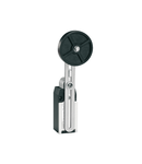 Limitator de cursa, K SERIES, ADJUSTABLE ROLLER LEVER, 1 BOTTOM CABLE ENTRY. DIMENSIONS TO EN 50047, METAL BODY, CONTACTS 2NC SLOW BREAK. RUBBER ROLLER WITH OFFSET ALIGNMENT