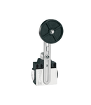 Limitator de cursa, K SERIES, ADJUSTABLE ROLLER LEVER, 2 SIDE CABLE ENTRY. DIMENSIONS COMPATIBLE TO EN 50047, METAL BODY, CONTACTS 2NC SNAP ACTION. RUBBER ROLLER
