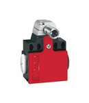 Limitator de cursa, K SERIES, HINGE OPERATING, 2 SIDE CABLE ENTRY. DIMENSIONS COMPATIBLE TO EN 50047, METAL BODY, CONTACTS 1NO+1NC SLOW BREAK. SHORT CYLINDER SHAFT