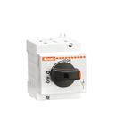 Separator,pentru aplicatii fotovoltaice, DIRECT OPERATING VERSION, COMPLETE WITH BLACK HANDLE, 40A 1000V