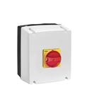 Separator,pentru aplicatii fotovoltaice, IEC/EN IP65 ENCLOSED, WITH RED/YELLOW HANDLE, 32A 1000V