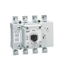 Separator tetrapolar,pentru aplicatii fotovoltaice, DIRECT OPERATING AND DOOR COUPLING VERSION, 630A