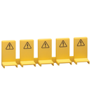 SAFETY COVER FOR UNUSED BUSBAR TERMINALS