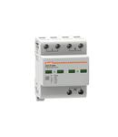 Descarcator tip 1 si 2 modnobloc, IEC IMPULSE CURRENT IIMP (10/350ΜS) 25KA PER POLE, 2P. Cu contact comanda de la distanta