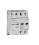 Descarcator tip 1 si 2 modnobloc, IEC IMPULSE CURRENT IIMP (10/350ΜS) 12.5kA PER POLE, 3P+N. Cu contact comanda de la distanta