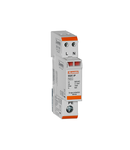 Descarcator tip 2 cu cartus, RATED DISCHARGE CURRENT IN (8/20MS) 5KA PER POLE, 2P