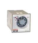 Releu de timp ON DELAY. SINGLE SCALE AND SINGLE tensiune, PLUG-IN AND FLUSH MOUNT VERSION 48X48MM, 220…240VAC