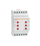 PUMP PROTECTION RELAY FOR SINGLE AND trifazat SYSTEMS, MAXIMUM AC CURRENT AND MINIMUM COSΦ. Lipsa faza AND INCORRECT PHASE SEQUENCE, 5A OR 16A