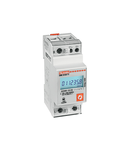Contor monofazat, MID CERTIFIED, NON EXPANDABLE, 63A DIRECT CONNECTION, 2U, 1 PROGRAMMABLE STATIC OUTPUT, MULTI-MEASEREMENTS, 230VAC