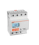 Contor trifazat, NON EXPANDABLE, 80A DIRECT CONNECTION, 4U, RS485 INTERFACE, MULTI-MEASUREMENTS