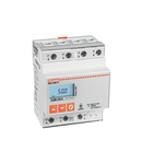 Contor trifazat, NON EXPANDABLE, MID CERTIFIED, 80A DIRECT CONNECTION, 4U, 2 PROGRAMMABLE STATIC OUTPUTS, MULTI-MEASUREMENTS