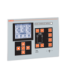MAINS-GENERATOR PARALLELING CONTROL. 12/24VDC, GRAPHIC LCD, WITH RS485 PORT, USB/OPTICAL AND WI-FI POINT PROGRAMMING PORT ON FRONT. EXPANDABLE WITH EXP... MODULES