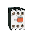 Contact auxiliar WITH FRONT CENTRE MOUNTING. SCREW TERMINALS, FOR BF SERIES CONTACTORS, 3NO