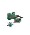 Ferastrau vertical Bosch PST 800 PEL cu valiza si set 10 panze