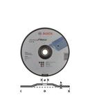 Disc de taiere cu degajare Standard for Metal Bosch 230 x 3.0