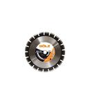 Disc diamantat pentru asfalt Premium 450mm GOLZ AS 75-450