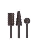 Set 3 freze raspel lemn/materiale neferoase 6mm Bosch