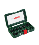 Set de 12 freze de profilat canturi Bosch coada de 8 mm