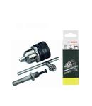 Adaptor SDS-Plus cu mandrina cu cheie BOSCH