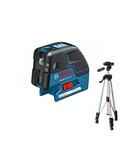 Nivela laser cu linii si puncte Bosch GCL 25 cu stativ BS 150