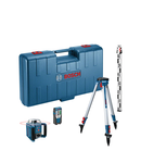 Nivela laser rotativa Bosch GRL 400 H + BT 152 + GR 2400 + valiza