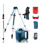 Nivela laser rotativa Bosch GRL 300 HV + Stativ BT 300 + Rigla de masurare GR 240