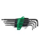 Set 13 chei imbus Torx T5-T45 forma L cu un cap rotunjit WIHA ProStar