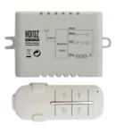 Releu radio controlat cu telecomanda  - receptor 2 canale 1000w