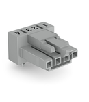 Socket for PCBs; angled; 4-pole; Cod. B