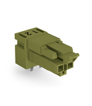 Socket for PCBs; angled; 2-pole; Cod. B