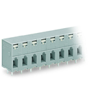 PCB terminal block; push-button; 2.5 mm²; Pin spacing 7.5 mm; 7-pole; CAGE CLAMP®; 2,50 mm²; gray