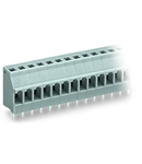 PCB terminal block; 2.5 mm²; Pin spacing 5 mm; 5-pole; CAGE CLAMP®; 2,50 mm²; blue