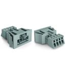 Snap-in plug; 4-pole; Cod. B; 1,50 mm²; light green