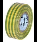 Banda A¸ PVC 19 M (0,15mm x 19mm) Verde-Galben