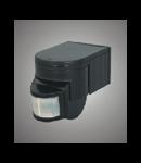 Senzor de miscare ES-40  negru Brilux