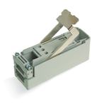 Tap-off module; for flat cable; 3 x 2.5 mm²; 3-pole; gray