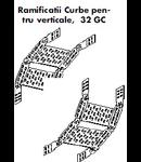 "TRAVERSA \""CURBA\""  PAT METALIC 400MM"