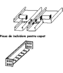 Element de capat sau reductie -pat 100mm