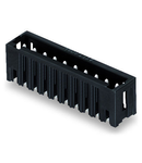 THR male header; 1.0 x 1.0 mm solder pin; straight; 100% protected against mismating; Pin spacing 3.5 mm; 16-pole; black