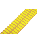 Textile labels; for Smart Printer; permanent adhesive; 7 x 20 mm; yellow