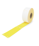 Cable tie marker; for Smart Printer; for use with cable ties; 100 x 15mm; yellow