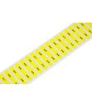 Labels; for Smart Printer; permanent adhesive; 8 x 20 mm; yellow