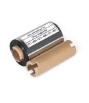 Thermal transfer ink ribbon; for Smart Printer; for self-laminating labels; black