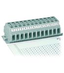 Marking strips; as a DIN A4 sheet; MARKED; 1 - 12 (80x); Strip width 6 mm; Strip length 182 mm; Horizontal marking; Self-adhesive; white